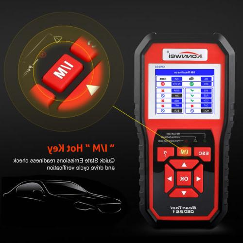 Automotive Code Engine Light Check OBD2 Tool
