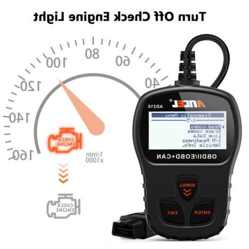 Automotive Code OBD2 Engine Fault Diagnostic Tool