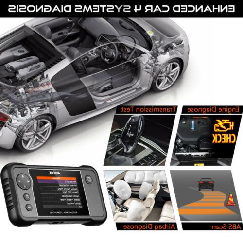 Automotive OBD2 Code Diagnostic Tool Engine ABS