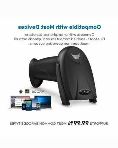 Barcode Scanner HooToo Wireless with