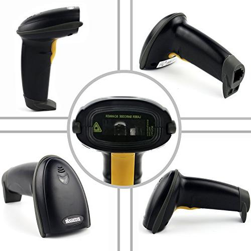 Barcode Scanner,Symcode Wired Scan Code