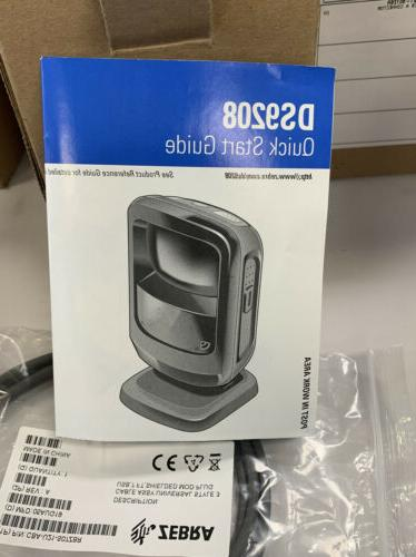Brand NEW Zebra Symbol DS9208 with USB Cable