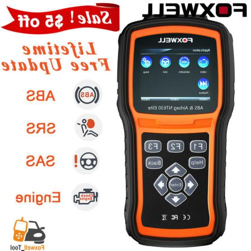 Car ABS SAS OBD2 Reader Engine Diagnostic Scanner