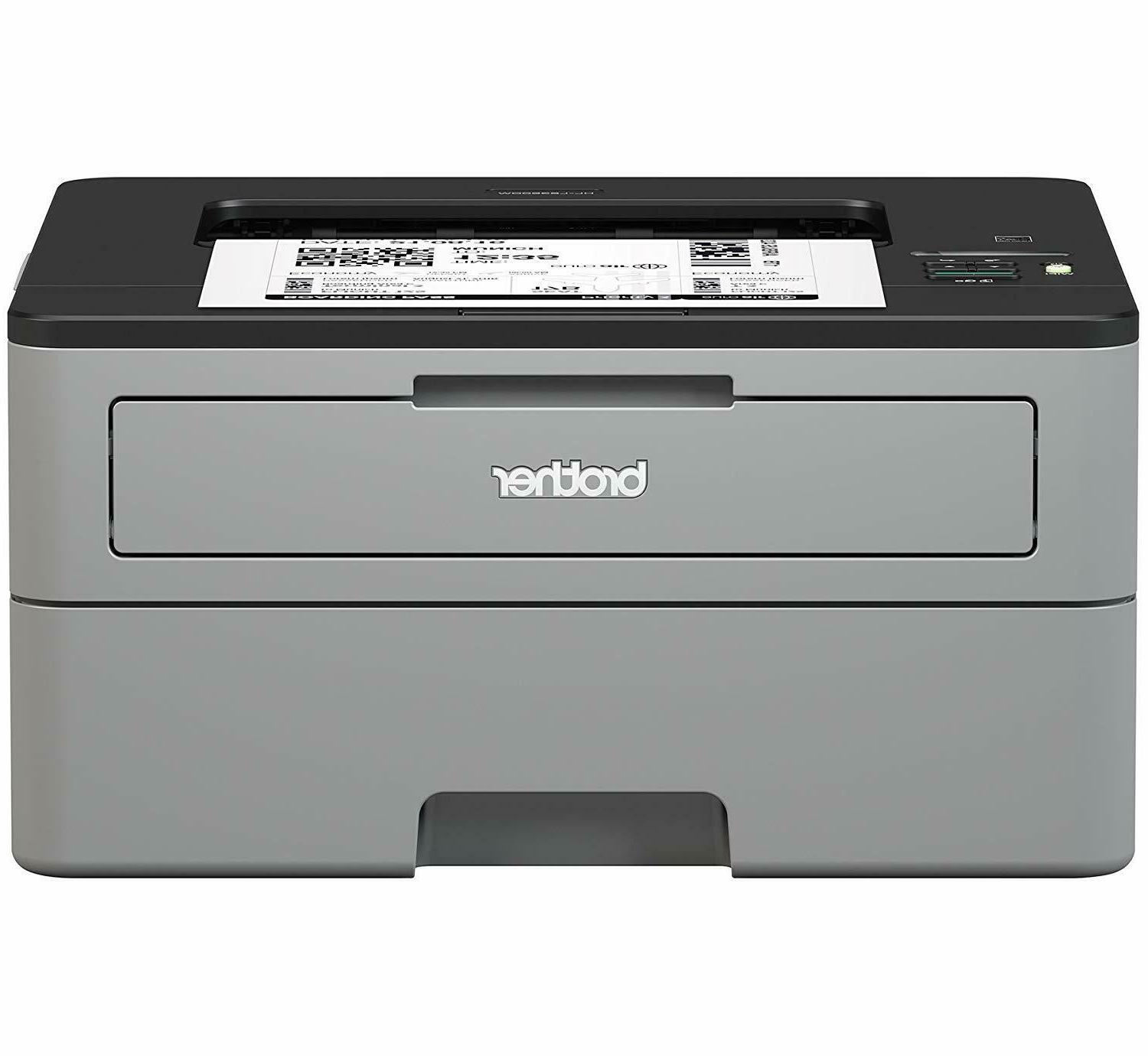 Brother Compact Monochrome Laser Printer, HL-L2350DW, Wirele