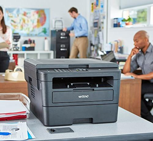 Brother Compact Monochrome Laser Printer, Flatbed & Printing, NFC, Printing Scanning, Dash