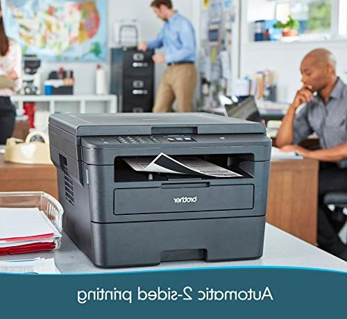 Brother Compact Printer, Copy NFC, Printing Scanning, Amazon Dash Enabled