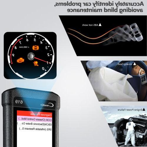 LAUNCH OBD2 Car Code Reader SRS Airbag Scanner
