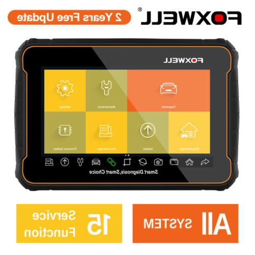 FOXWELL GT60 Scanpad Tablet Full System Code Reader Scanner