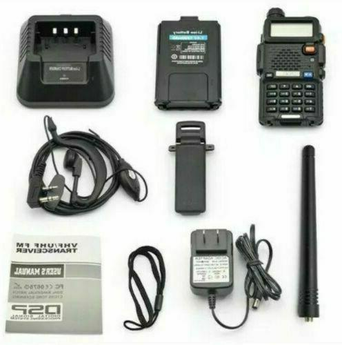 Digital Handheld Fire Police EMS Ham 2 Way Transceiver