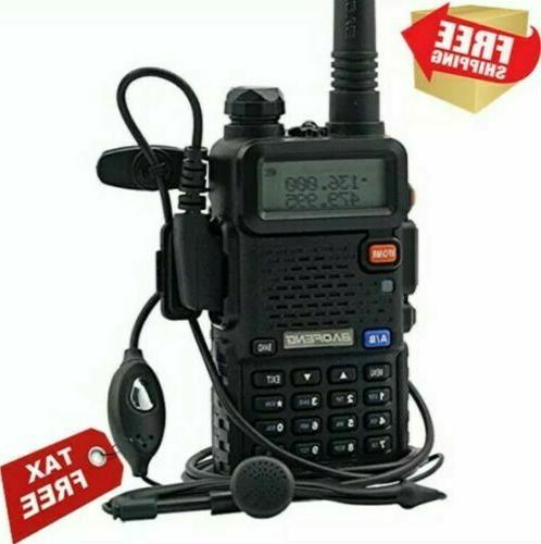 Digital Handheld Radio Fire Police VHF FM EMS 2 Way Transceiver