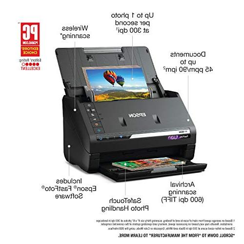 Epson FastFoto FF-680W High-Speed Scanning