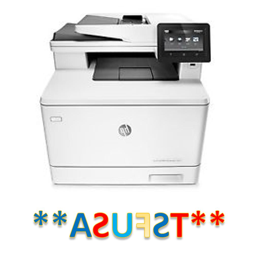 HP LaserJet Pro M477fnw Laser Multifunction Printer Plain Paper Print Support Plain