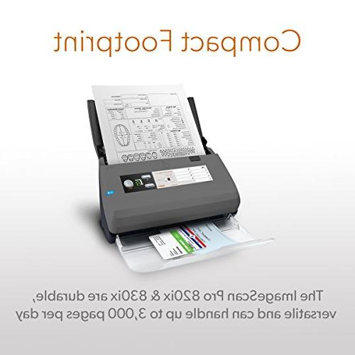 Ambir ImageScan Pro High-Speed Document and ID Scanner with Automatic Document Pages