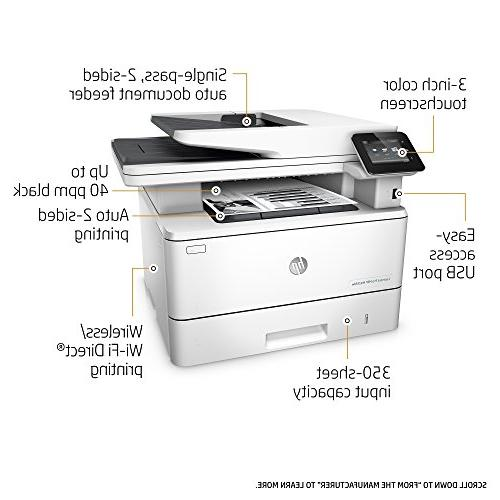 HP Laserjet Pro Multifunction Laser Printer with Duplex Dash