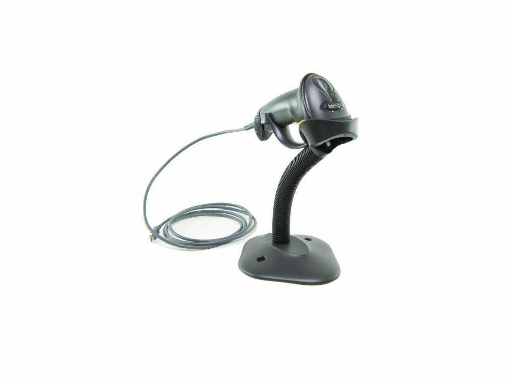 ls2208 digital handheld barcode scanner with stand