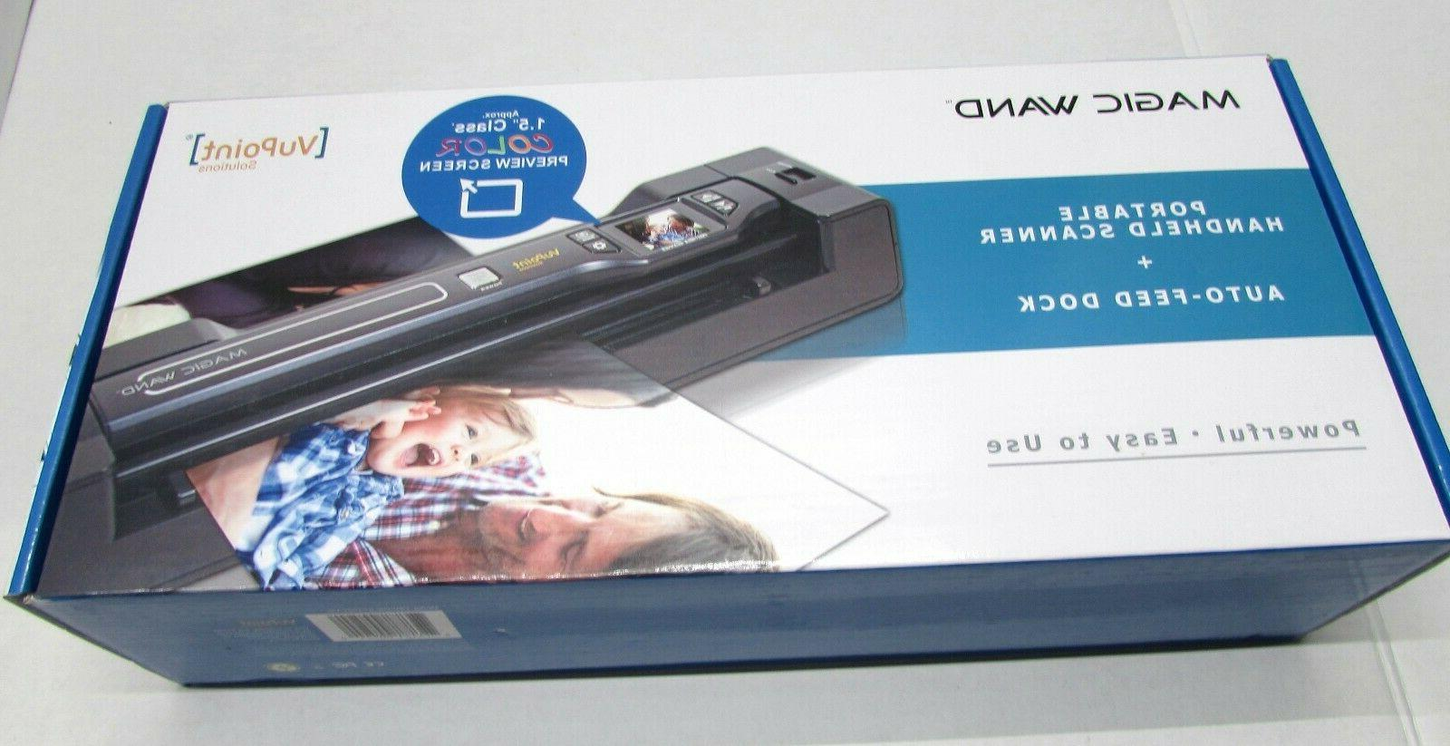 magic wand portable scanner with color lcd
