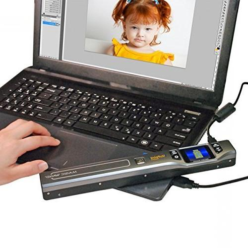 Portable Scanner with Wi-Fi, Plus Card, and Mobile/Portable