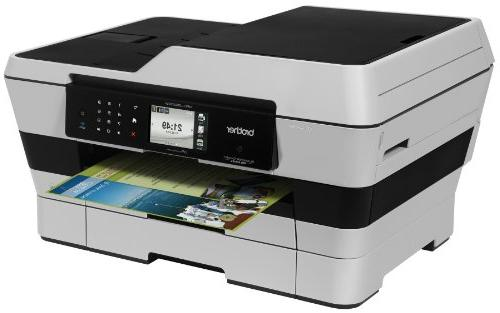 Brother MFCJ6920DW Inkjet Printer Copier and Fax, Dash Enabled