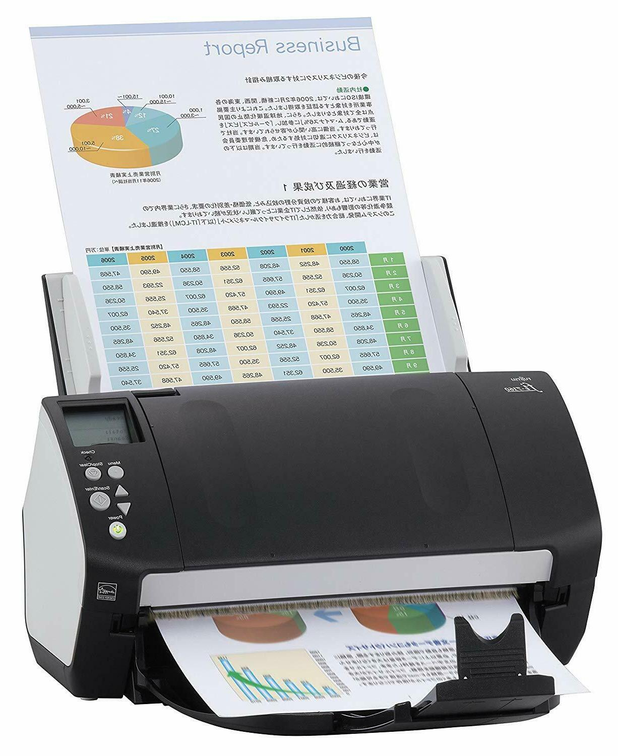 New & fi-7160 Color Scanner Workgroup