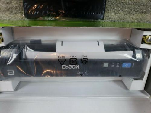 NEW Epson WorkForce DS-40 Wireless Portable Document for and