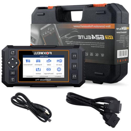 Foxwell Scanner Full System Auto Diagnostic Tool Oil Reader