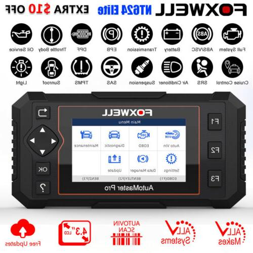 obd2 scanner full system auto diagnostic tool