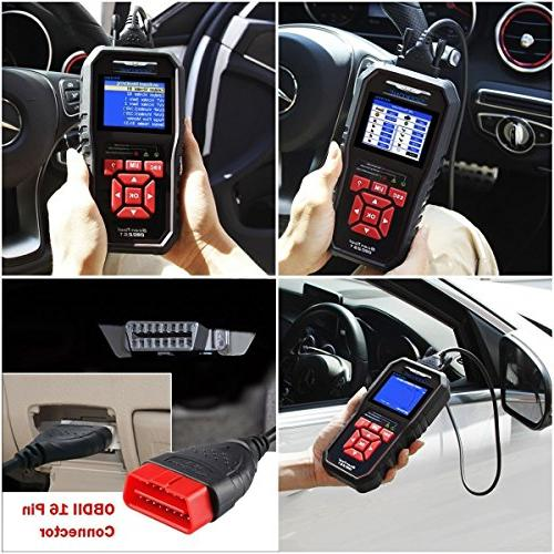 SEEKONE OBD2 Scanner Car Auto Diagnostic Code Reader Automotive Light Tool Protocol Cars