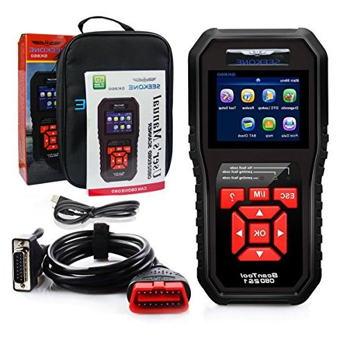 Car Auto Code Reader Check Light Diagnostic Tool All Protocol
