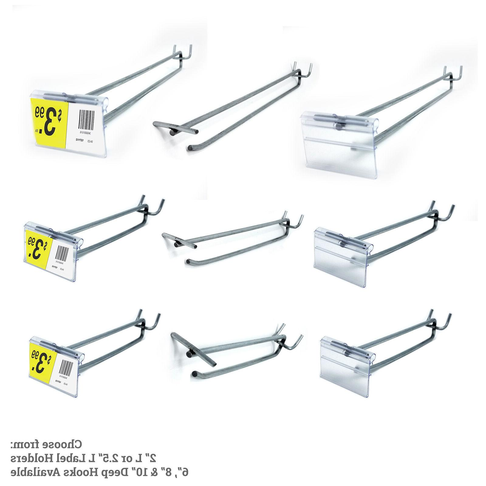 pegboard flip up scanner hooks 1 25