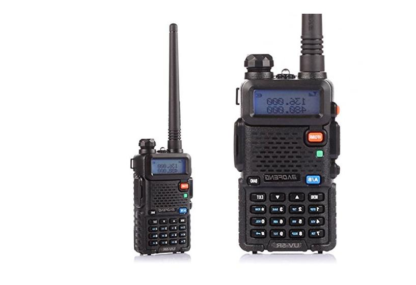 Police Scanner Transceiver Portable Antenna Dual Band Freq