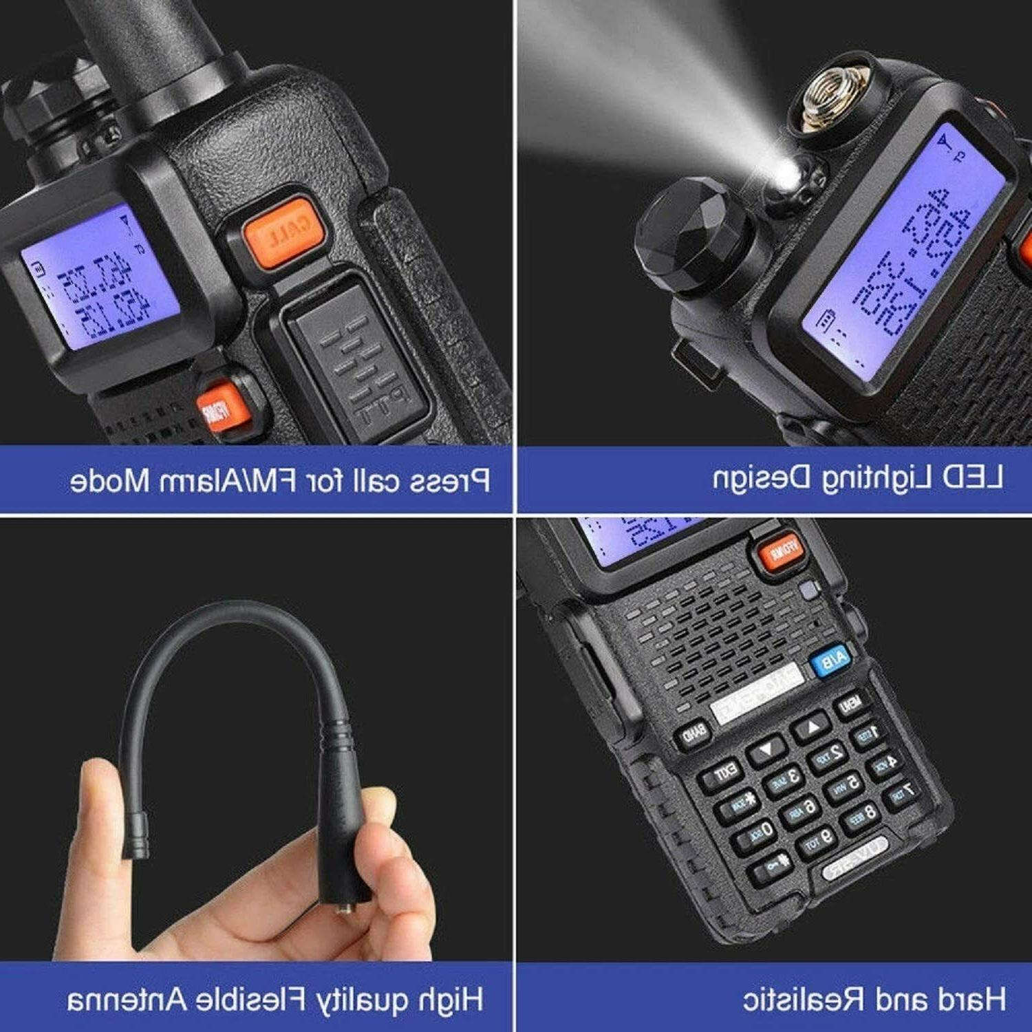 Two Way Transceiver Police Portable F-Antenna HAM