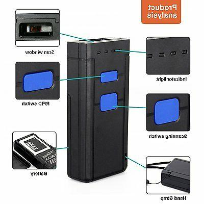 USB Bluetooth Barcode 1D Mini Laser Barcode For Bluetooth 4.0