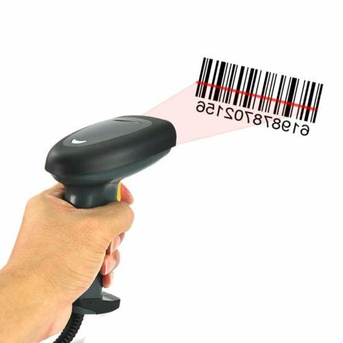 Automatic Handheld Barcode Scanner Reader Bluetooth