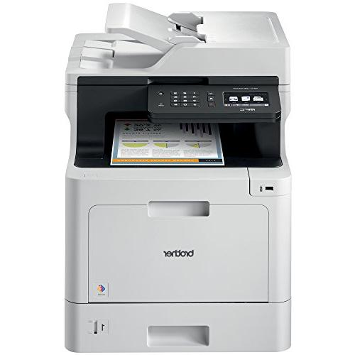 Brother Laser Multifunction Printer, MFC-L8610CDW, Duplex Printing, and Scanning, Replenishment