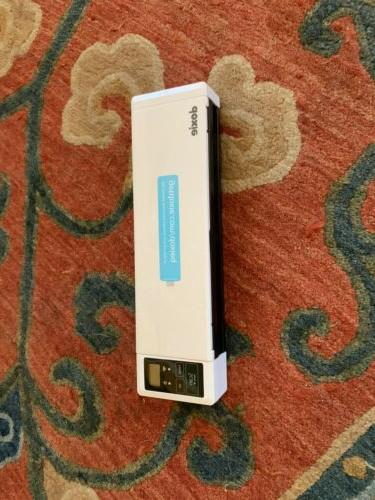 q dx300 wireless rechargeable document scanner