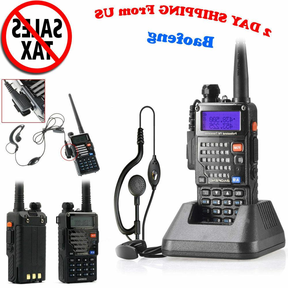 Radio Scanner Handheld Police Fire Transceiver Portable Ante