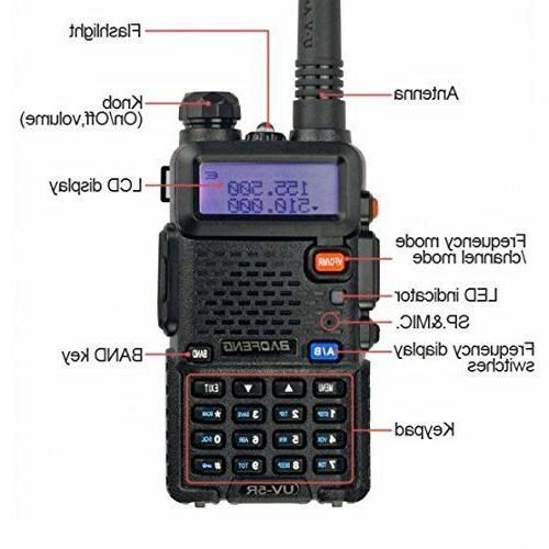 Police Fire Way Scanner Transceiver Portable F-Antenna HAM