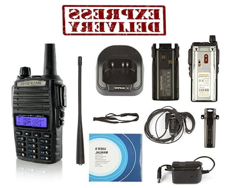 Radio Handheld Portable Transceiver Way EMS HT