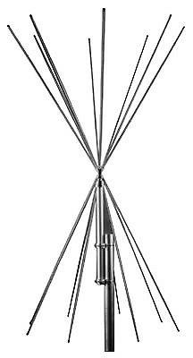 Scanner Receiving Antenna - Royal Double Discone -