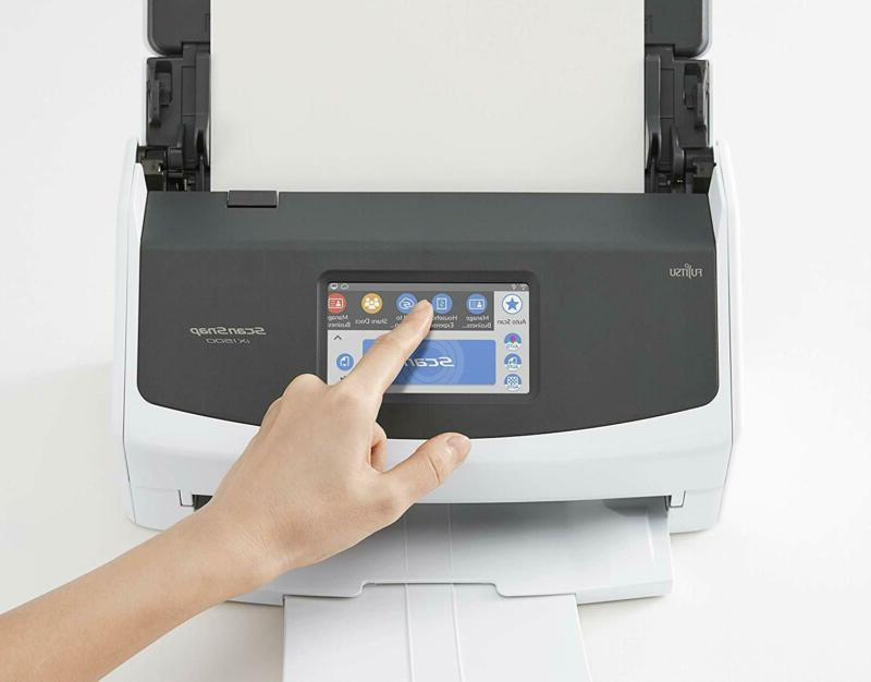 Fujitsu Scansnap Ix1500 Duplex Document With Touch Screen For