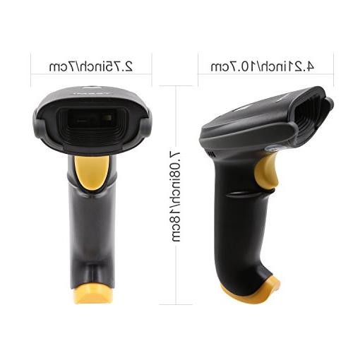 TEEMI Handheld USB 1D bar Imager with for Mobile Payment Screen Scan OS