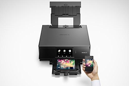 Canon Wireless Printer Copier: Mobile Printing, and Google compatible, Gray