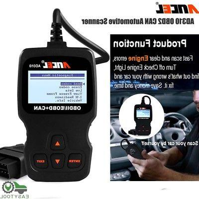 OBD2 Auto Scanner Car Live Data Code Reader Engine Check Dia