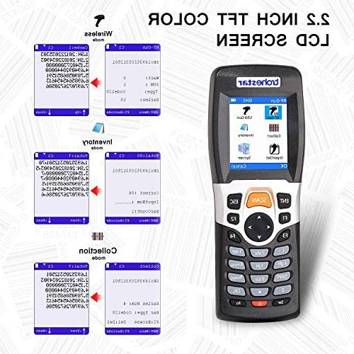 TroheStar Wireless and Collector Portable Terminal Inventory Device Barcode PDT with Color Screen