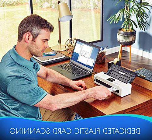 Brother Wireless Compact Desktop Scanner, ADS-1700W, Fast Speeds, Easy-to-Use, Ideal On-the-Go