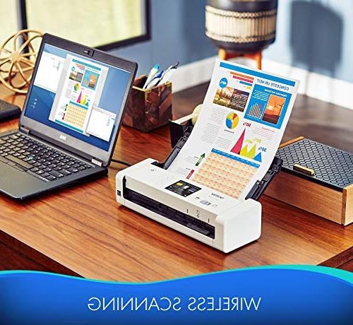 Scanner, ADS-1700W, Speeds, Ideal Home, Home or On-the-Go Professionals