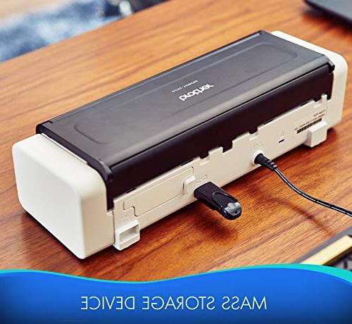 Desktop ADS-1250W, Easy-to-Use, Fast Scan Ideal for Home, Home Office or On-the-Go Professionals