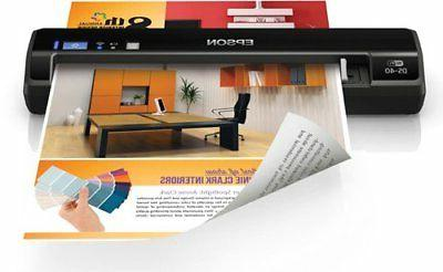 workforce ds 40 wireless portable document scanner