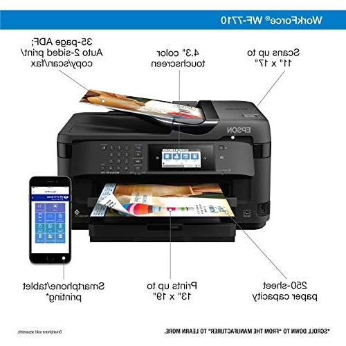 Workforce WF-7710 Color Copy, Direct and