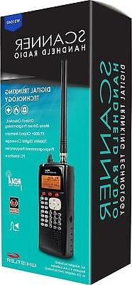 Whistler WS1040 Digital Handheld UHF/VHF Police Scanner Port